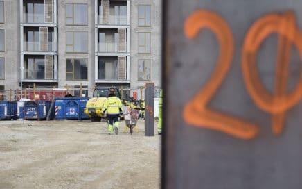Aflæsningspladser etableres på Kronløbsørens byggeplads