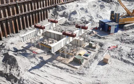 Et statisk prøvebelastningsforsøg på Kronløbsøen. Testkonstruktioner.