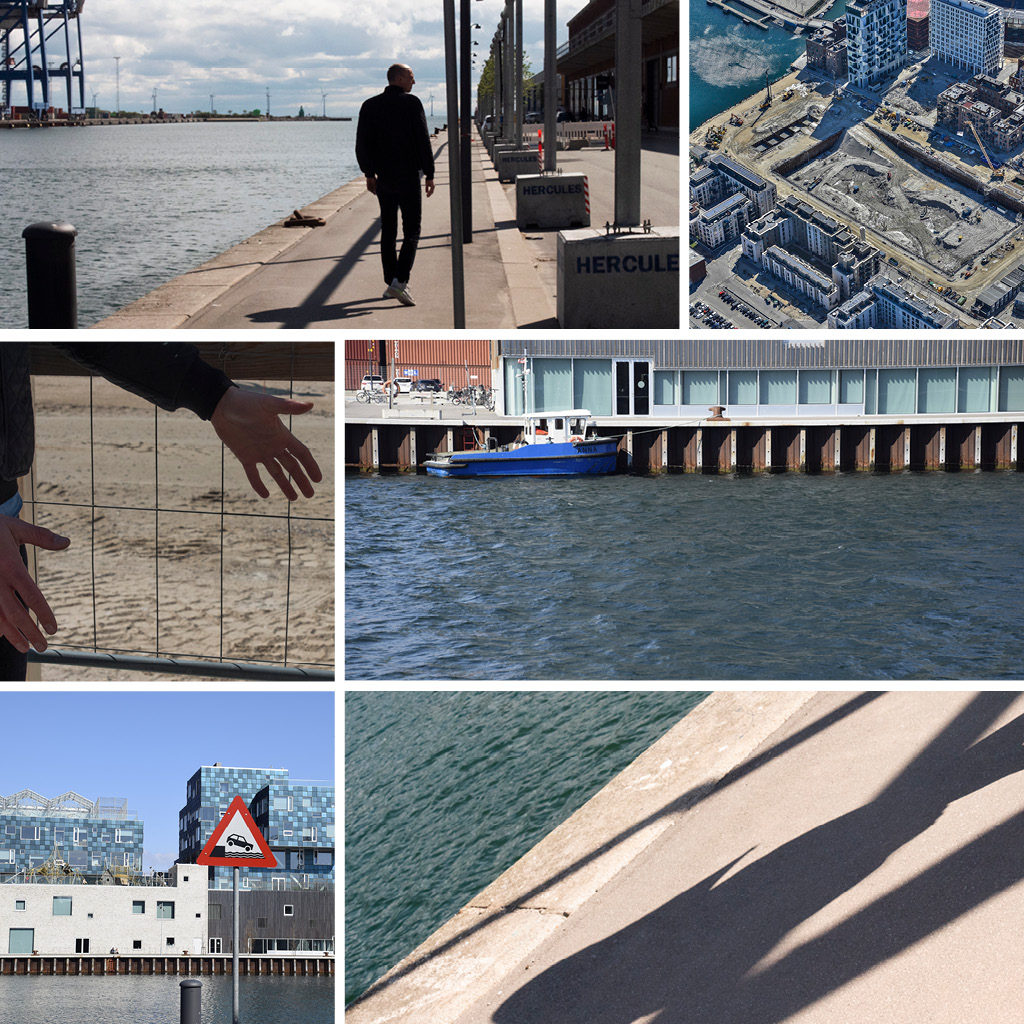Rune Boserup, COBE på tur i Nordhavn - billeder fra Orientkaj