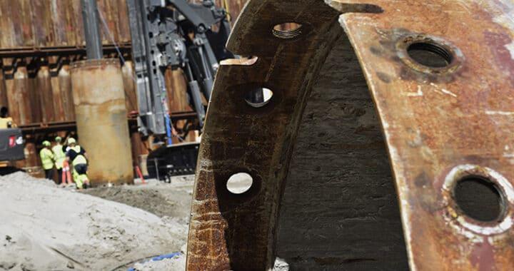 Kronløbsøen sekantmaskiner og stålcasing