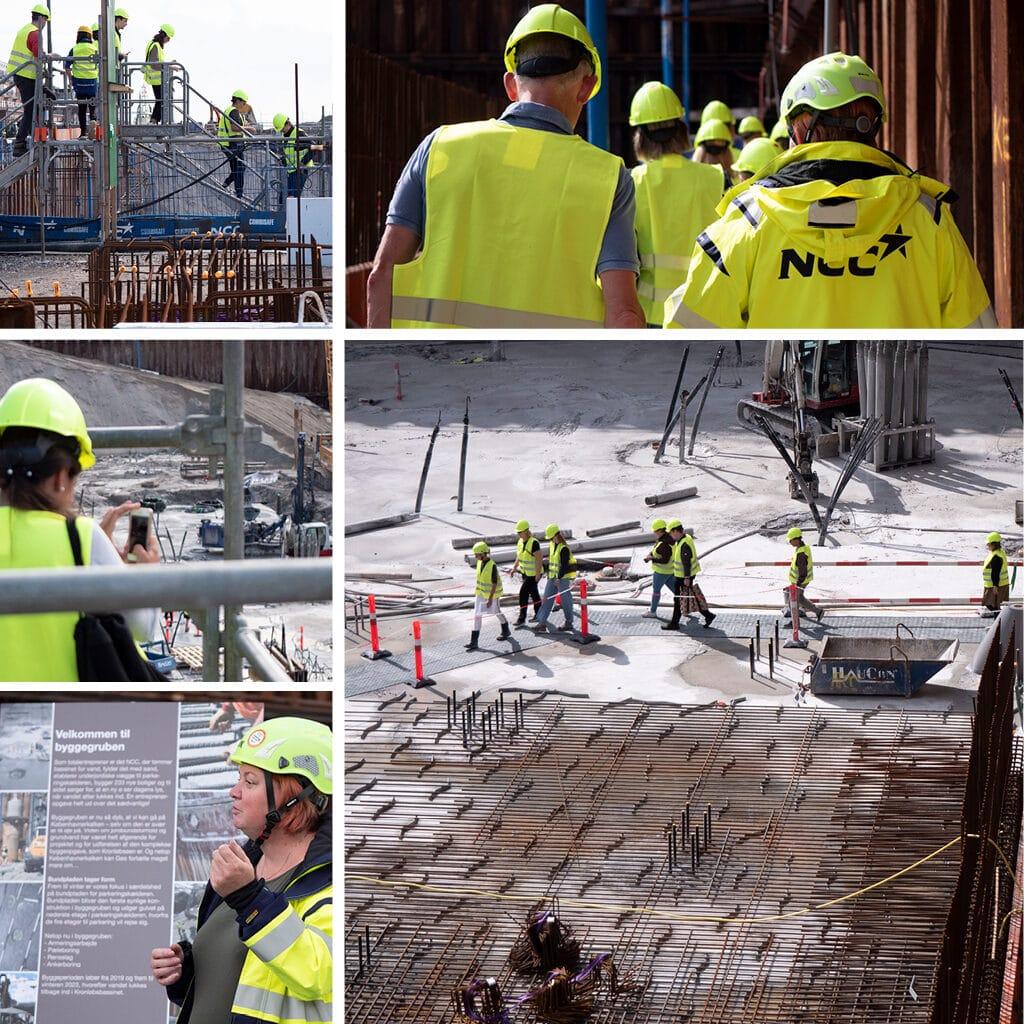 Kronløbsøen - naboevent, rundtur i byggegruben med Trine Tindborg