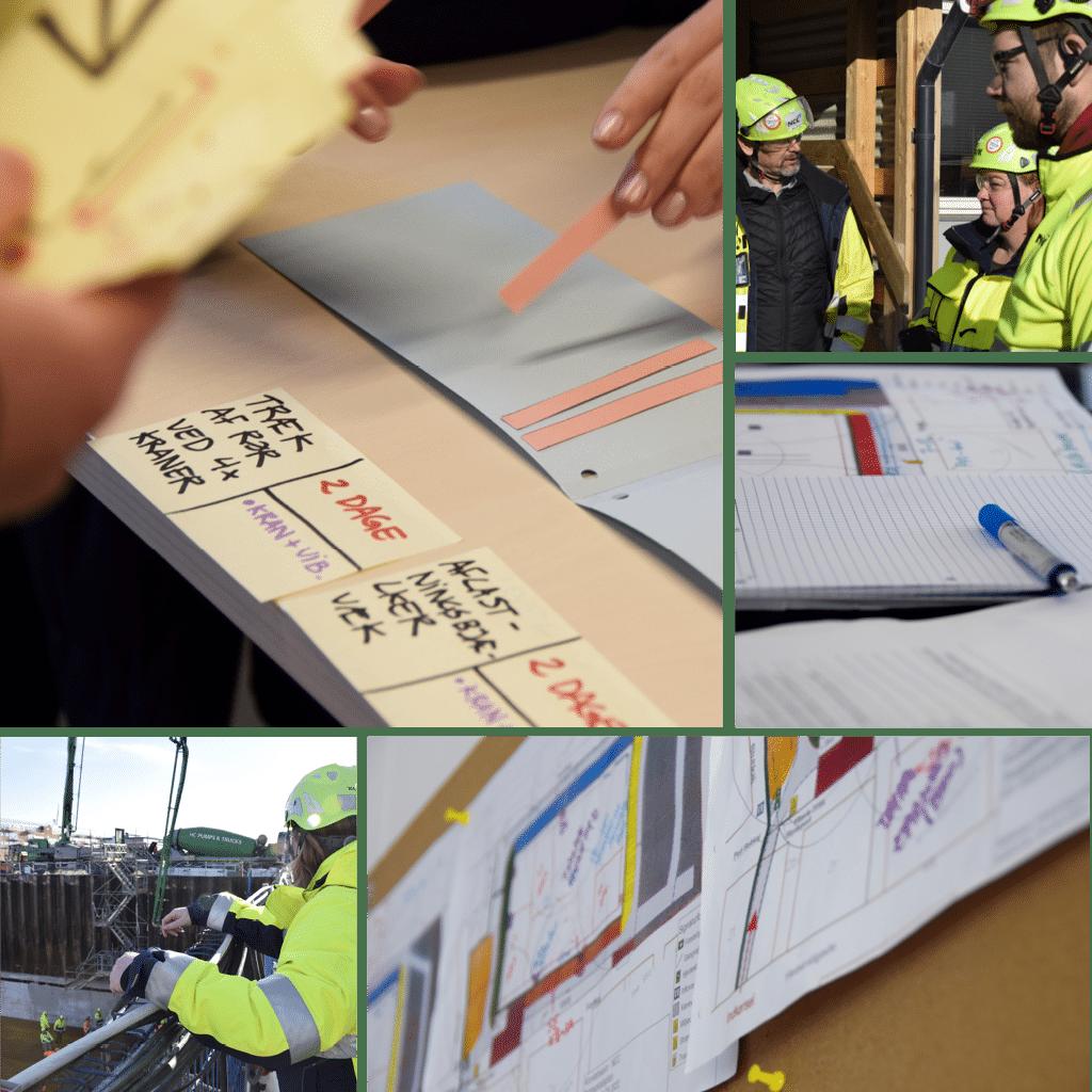 Kronløbsøen - seminar, planlægning, støbning